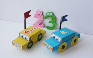 Поделки из спичечных коробков для детей: оригинальные идеи, схемы