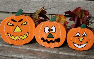 Поделки на Хэллоуин своими руками: 40 идей в детский сад и школу