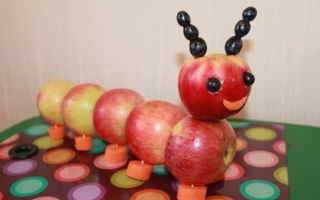 """Поделки из яблок на выставку """"Дары осени"""" в детский сад и школу"""