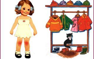 """Конспект логопедического занятия по теме """"Одежда"""" в старшей группе детского сада"""