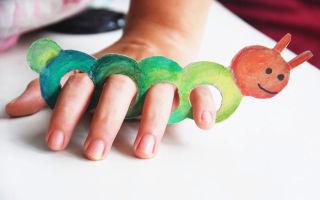 Пальчиковые игры на тему «Насекомые» для детей в детском саду