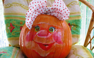 Осенние поделки из тыквы: идеи для выставки в садик и школу