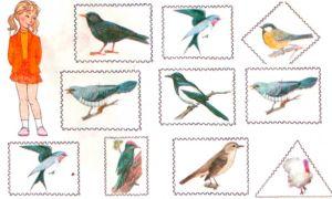 """Конспект занятия по развитию речи в старшей группе на тему """"Перелетные птицы"""""""