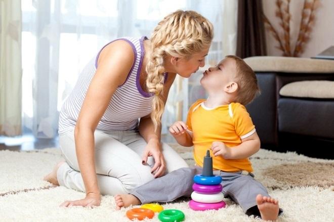 Правила обучения речи детей 2-3 лет