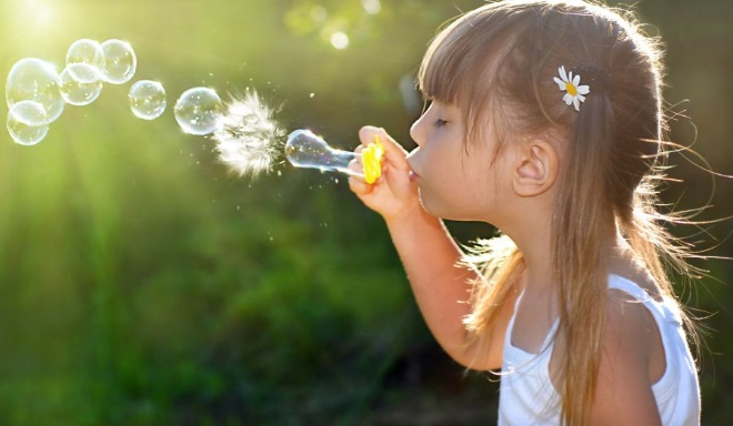 Надувание мыльных пузырей при ринолалии
