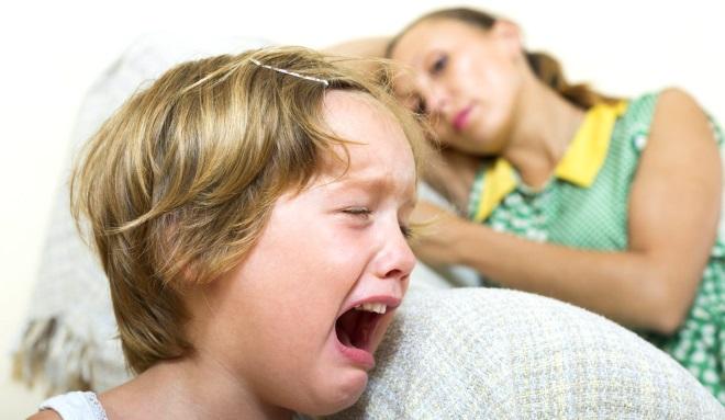 Аутоагрессия у детей с зрр