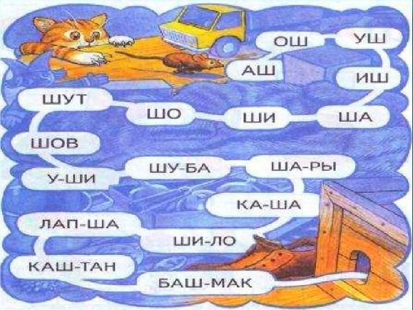 Логопедическая игра Помоги мышонку