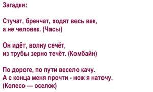 Дифференциация звуков [ч]-[т] в загадках