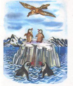 Животные севера в сюжетных картинках 1