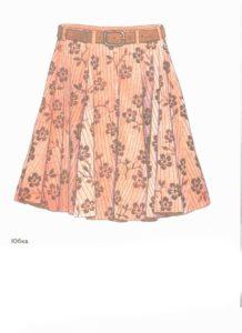 Рисунок юбки