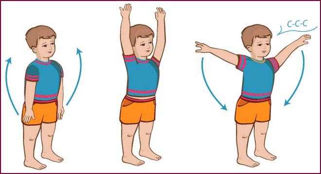 Упражнения гимнастики
