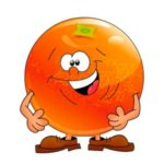 Апельсин веселый