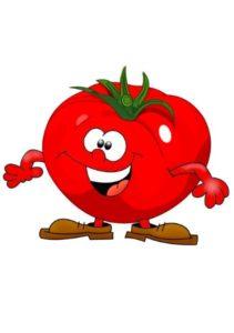 Веселый помидор