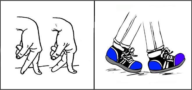 Упражнение Ножки