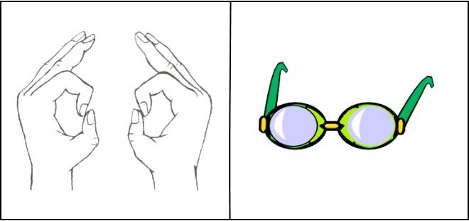 Упражнение Очки