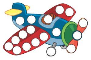 Шаблон Самолет
