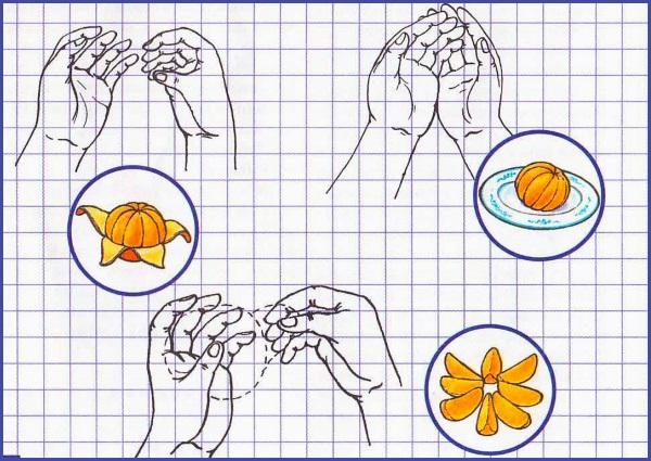 Упражнение Апельсин