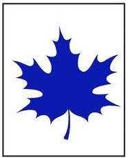 Синий лист