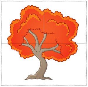Пазлы дерево