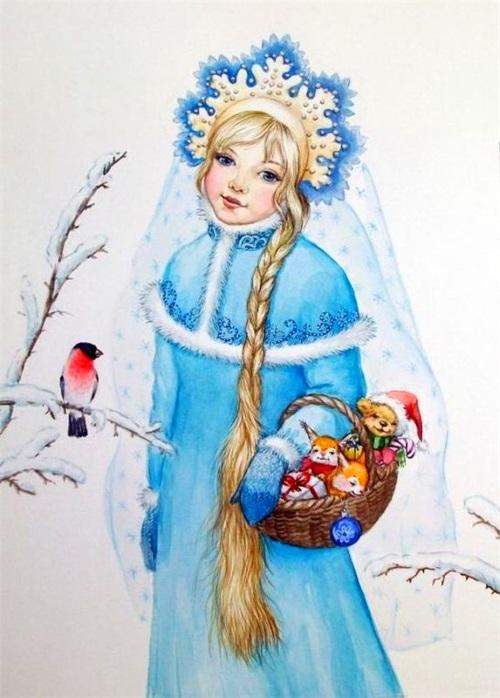 Снегурочка девушка