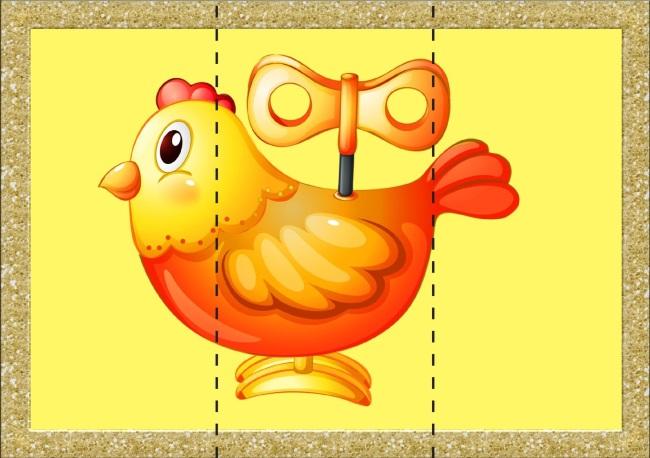 Разрезной цыпленок