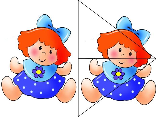 Кукла разрезная
