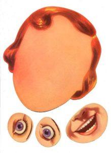 Шаблон лица 1