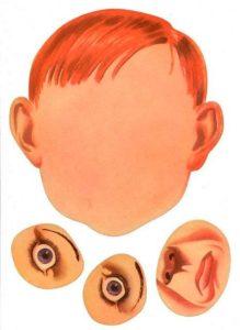 Шаблон лица 3