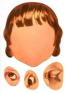 Шаблон лица 4
