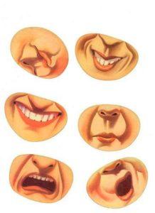 Шаблон лица 5