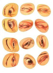 Шаблон лица 7