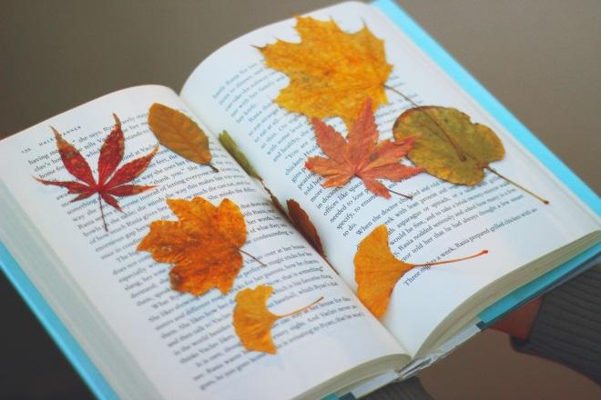 Листья в книге