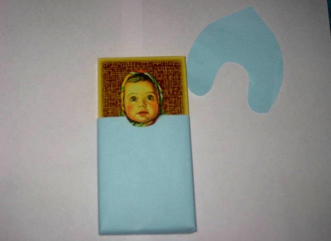 Шоколадка в бумаге