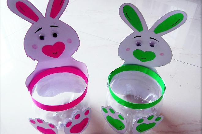 Подставки-кролики