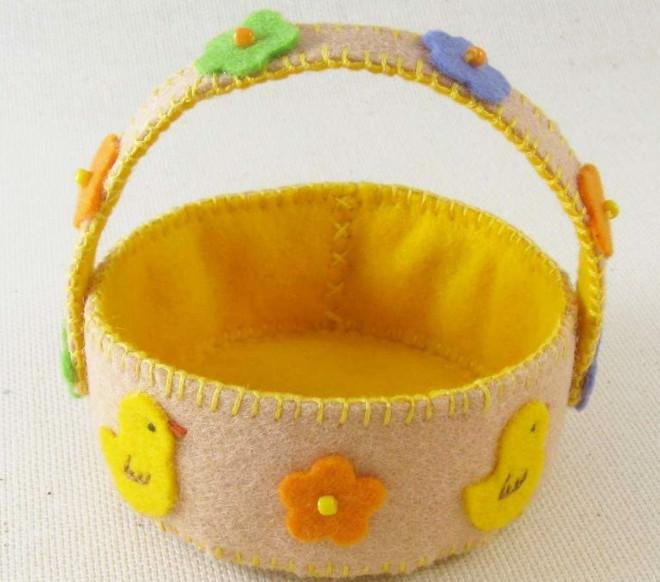 Корзинка для пасхальных яичек