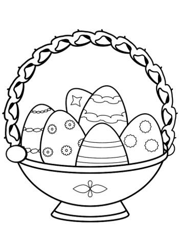 Праздничные корзинки с яичками