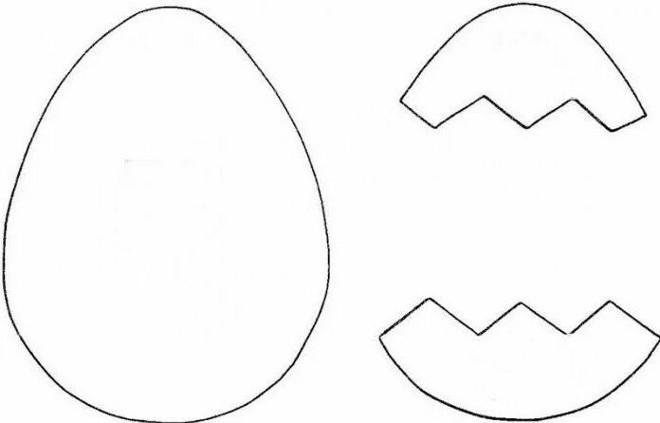 Яйцо шаблон