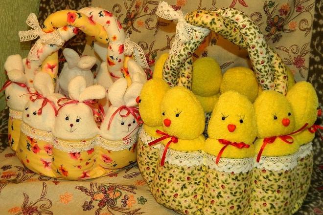 Набор игрушек к Пасхе