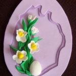 Пасхальное яйцо из фоамирана