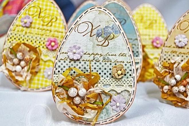 Оригинальные яйца от кролика