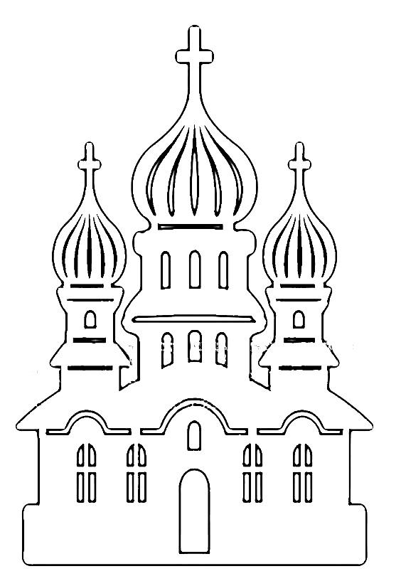 Шаблон церкви 2