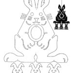 Шаблон зайца 4
