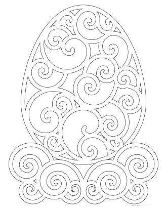 Шаблон яйца 1