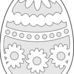 Шаблон яйца 5