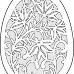 Шаблон яйца 7