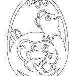 Шаблон яйца 8