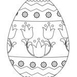 Шаблон яйца 15
