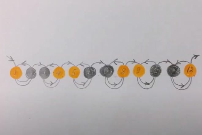 Плетение цепочки
