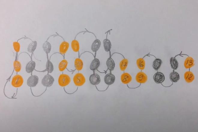 Схема третьего ряда