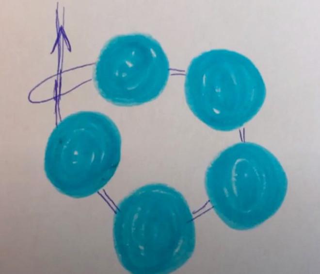 Схема плетения колокольчика